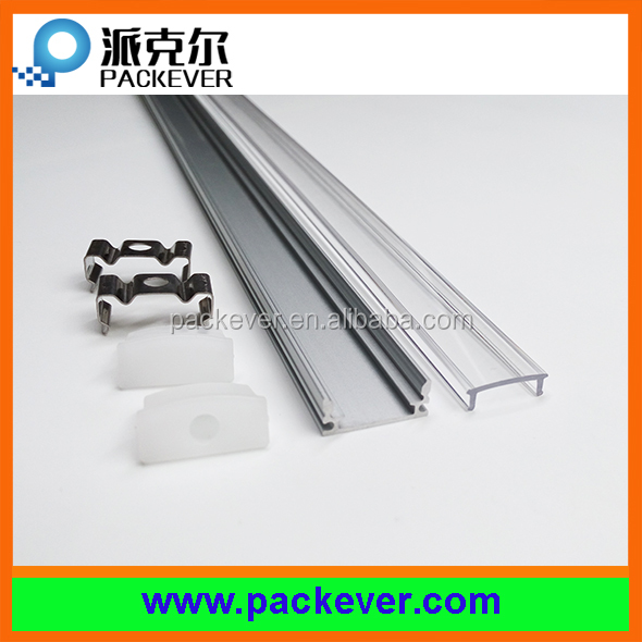 12mm aluminium extrusion profile for LED strip light heat dissipation