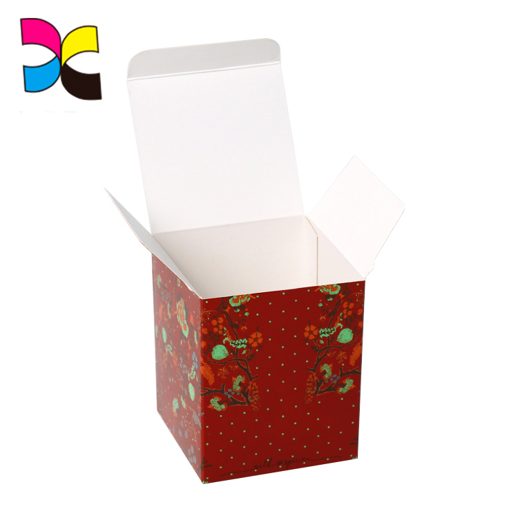Custom Design ECO-Friendly Soap Flower Packaged Tea box