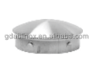 China Manufacturer Sanitary Stainless Steel Ending Caps For Pipes