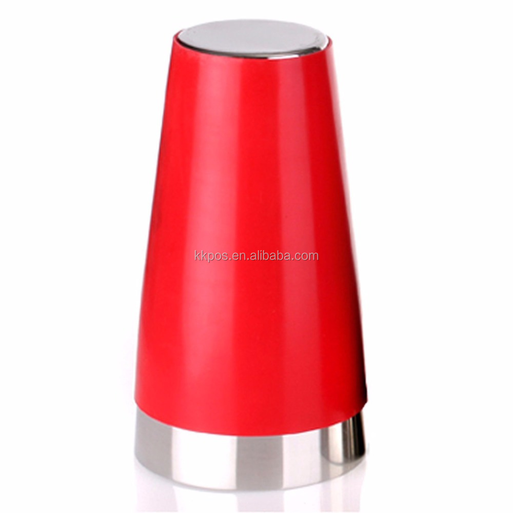 COCKTAIL SHAKERS 28 oz Stainless Steel Bar Shaker with Red PVC Coating