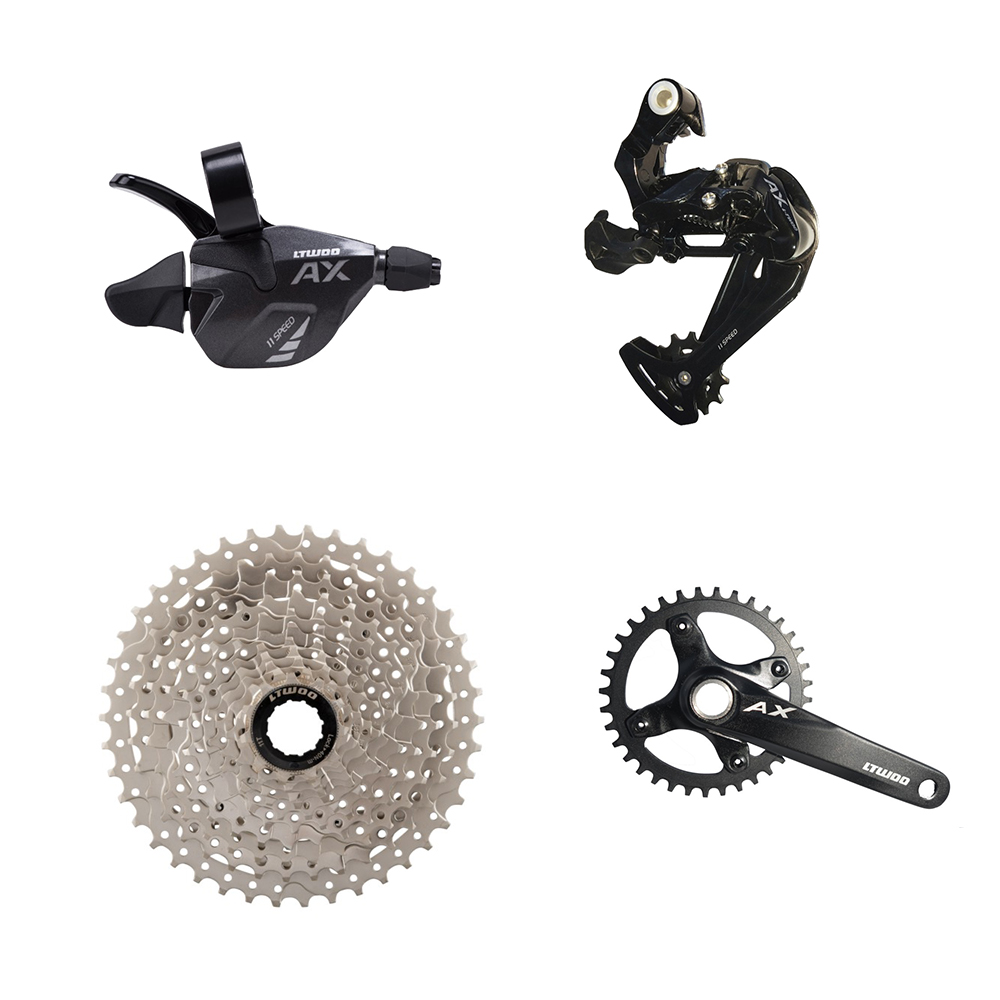 Alibaba.com / L-twoo Outdoor sports mountain bicycle parts AX 1X11S Kit front rear Derailleur 50T Freewheel MTB bike Accessories supplier