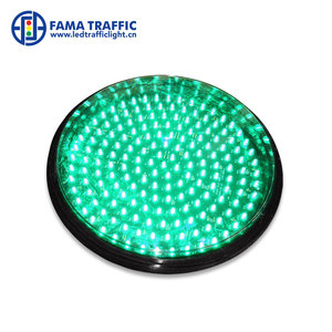 12 inches Clear lens LED traffic signal