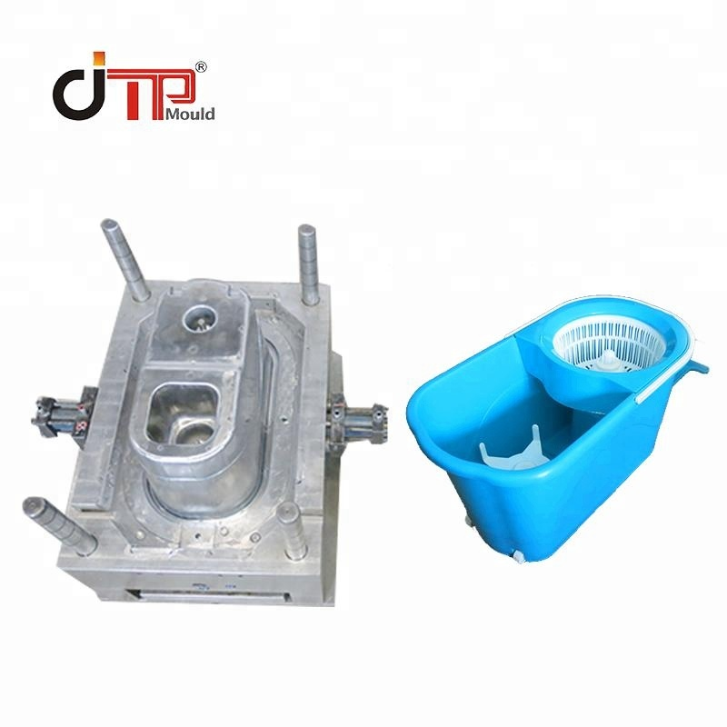 Excellent quality 3D or 2D multi cavities plastic mop bucket mould <strong>injection</strong>