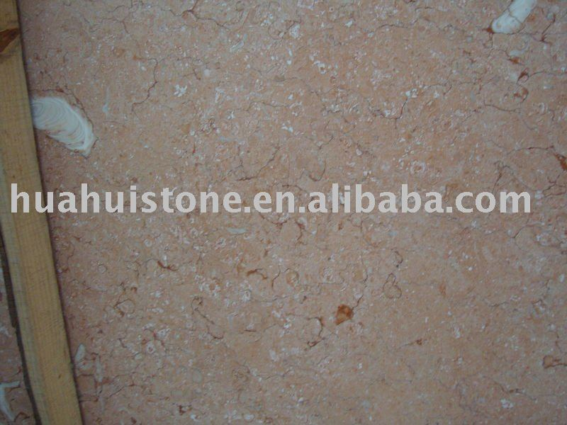 Fossilous Beige marble top dining table