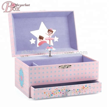 High Grade Popular Jewelry Boxes Mechanism Musical Box Wholesale
