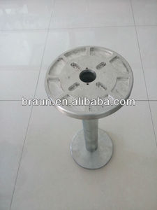 metal bobbin for braiding machine