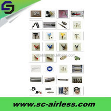 Hot sale airless paint sprayer parts and spray paint equipments