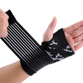 High quality Nylon spandex weight lifting wrist wraps for sporting wrist bands