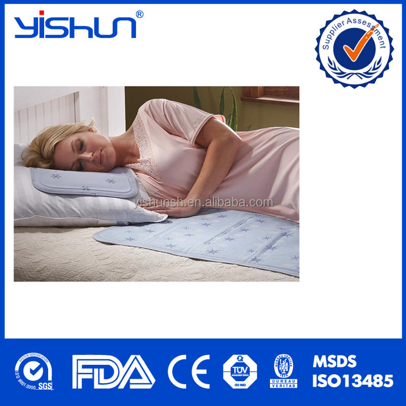 Resuable bed ice gel mat