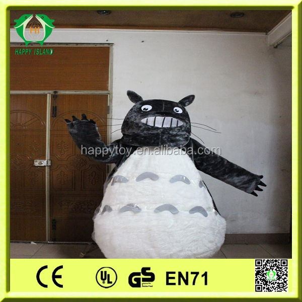 HI CE 2014 high quality cartoon totoro mascot costume/ hot sale totoro cartoon