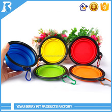 Buy Direct From China Wholesale Stocked Colorful silicone travel dog bowl