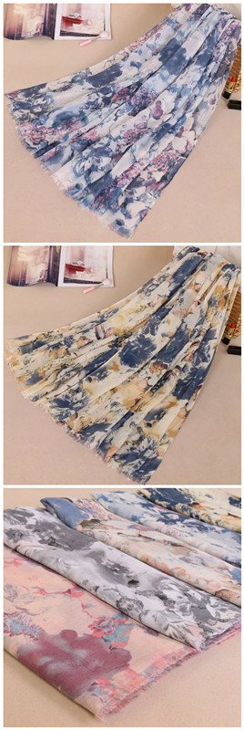 2018 China Factory Direct Elegant Wholesale Pretty Cotton Tassel Scarf Women Hijab