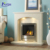 Western style simple white marble fireplace for sale NT-MF158Z