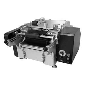 Hot Sale satchel semi-automatic card pouches labeling machine with good price