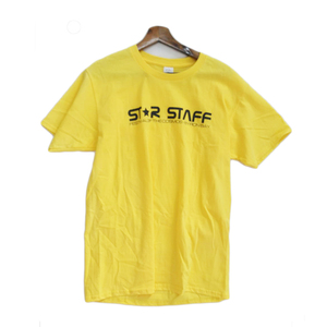 Promotion Cotton Kids Boys Yellow Sports Tee Shirts