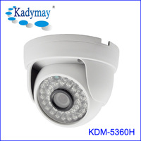 AHD 1080p home camera housing excellent image with high quality dome security camera