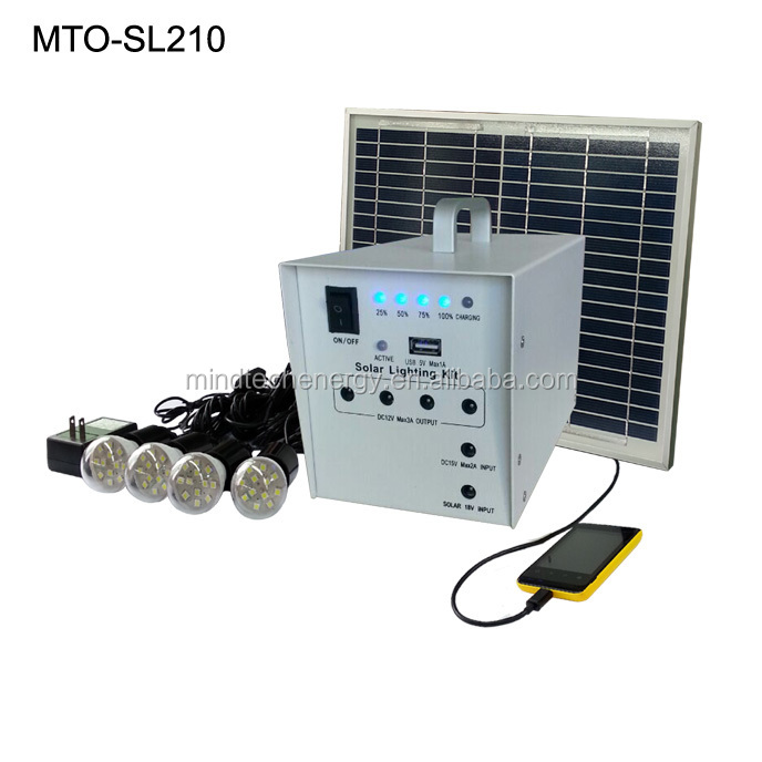 mini solar power system supply and main parts solar system