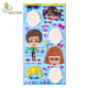 Best-Selling Best Material Oem Designs Kawaii Good Adhesive Layer DIY Dress Up Puffy Foam Sticker For Kids