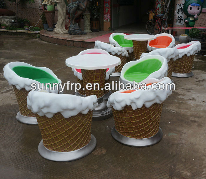Ice Cream Table And Chair   Buy Ice Cream Table And Chair,Fiberglass  Chairs,Modern Leisure Chair Product On Alibaba.com