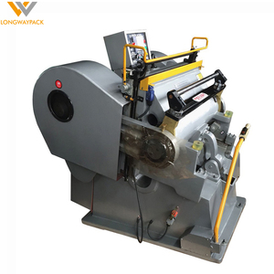 Die Punching Machine for corrugated board & box making plant