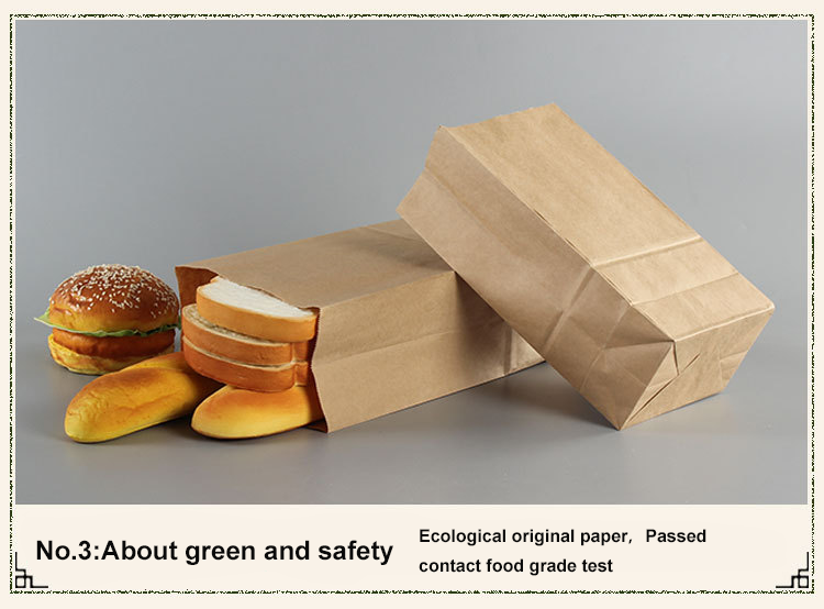 Wholesale Brown Paper bag With Valve Eco Friendly Tin Tie Custom Kraft Fast Food Bags
