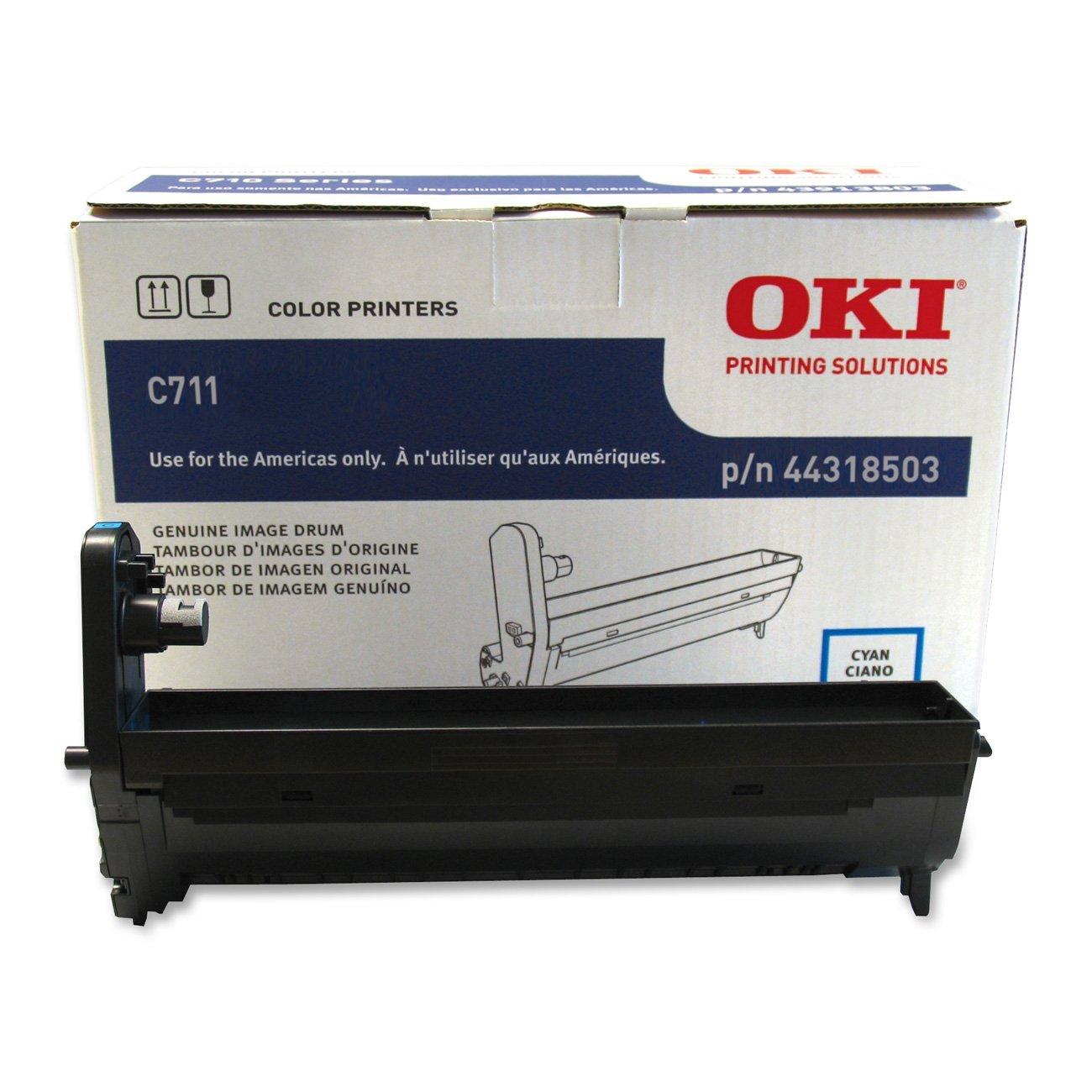 LD Compatible Okidata 44318604 4PK Black Toner Cartridges for OKI C711 Series