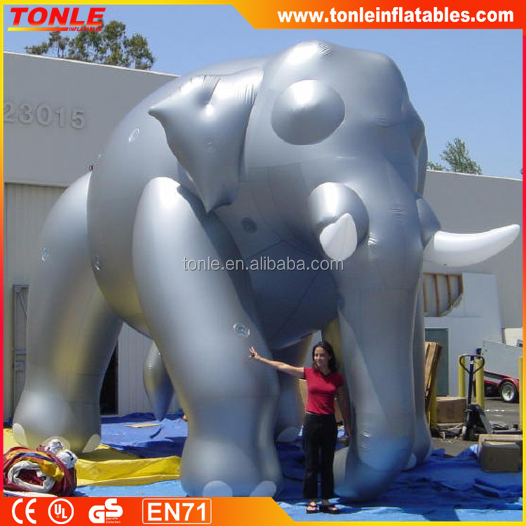 giant and popular inflatable elephant helium balloon for decoration