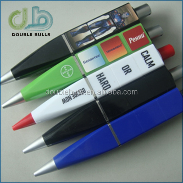 Custom feature ballpoint pen with assorted styles / promotion magic toy pen with color changing
