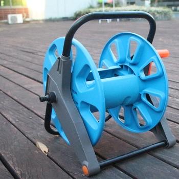 Retractable Garden Hose Reel Plastic Cart As Seen On Tv Buy