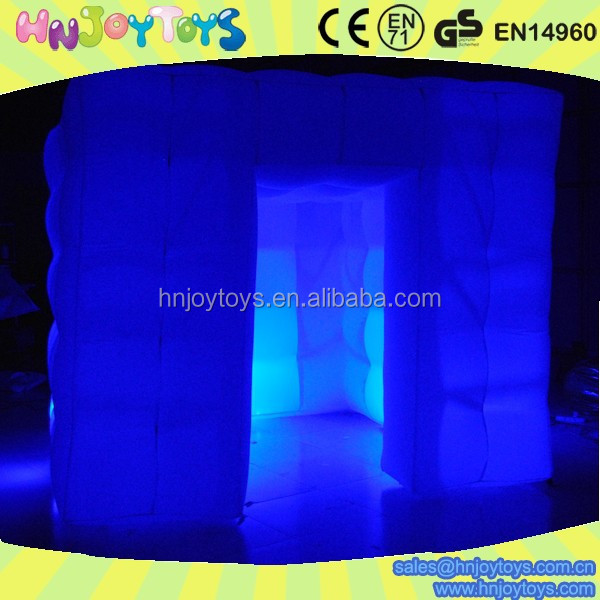 Wholesale inflatable photo booth camera enclosure, led photobooth camera enclosure