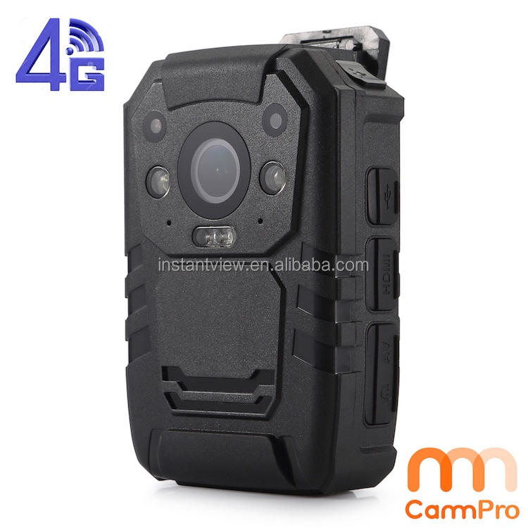 OEM Accept Mini IP65 Waterproof 1296P high Definition GPS 4G Wifi Police Body Worn Camera Manufacturer from China