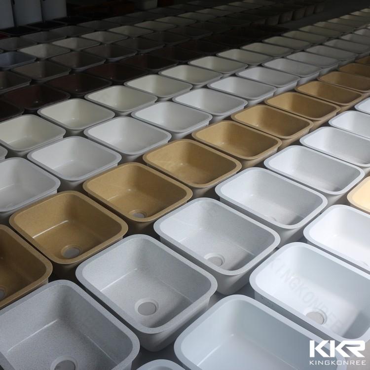 Resina fancy pietra sottotop drop in cucina lavello - Lavello cucina resina ...