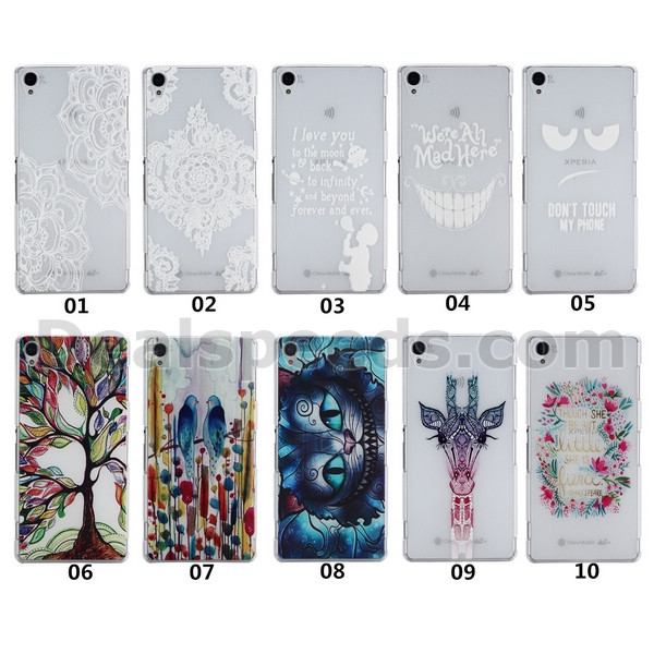 Couple Birds Hard Back Case for Sony Xperia Z3 D6653