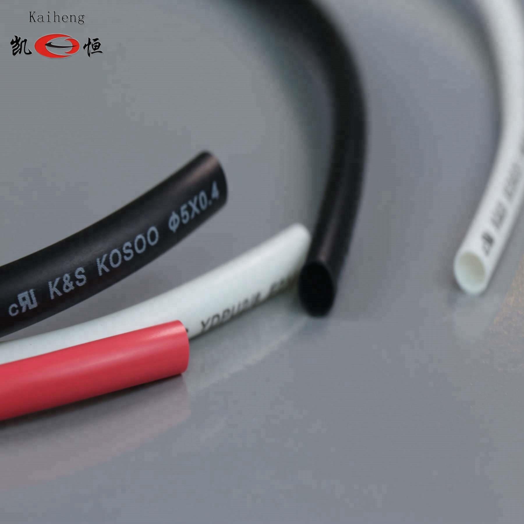 5mmブラック/ホワイト/レッド/イエロー/ブルー/グリーンケーブル絶縁チューブソフトul承認pvcチューブチューブ