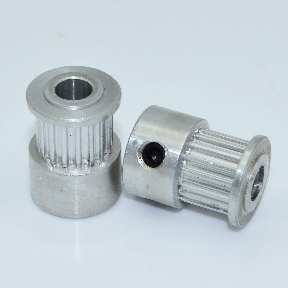 2m MXL Belt 2 x MXL Type Timing Pulley 40 Teeth 12mm Bore for Stepper Motor