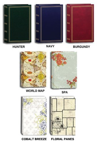 "Pioneer Classic 3 Ring Photo Album with Assorted Colored and Designs Covers, Holds 504 4x6"" Photos, 3 Per Page"