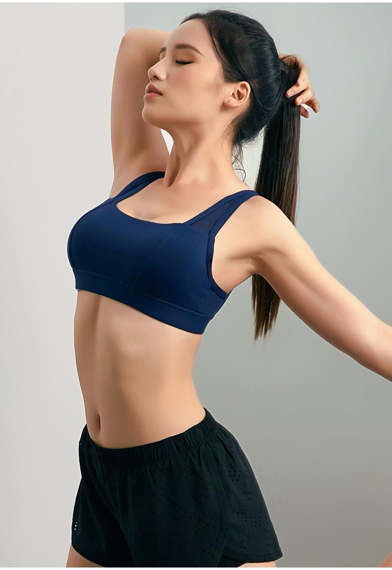 Women Wirefree Padded Yoga Bra Underwear 20