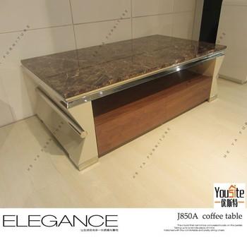 Living Room Furniture Sofa Set Marble Center Table Design - Buy ...