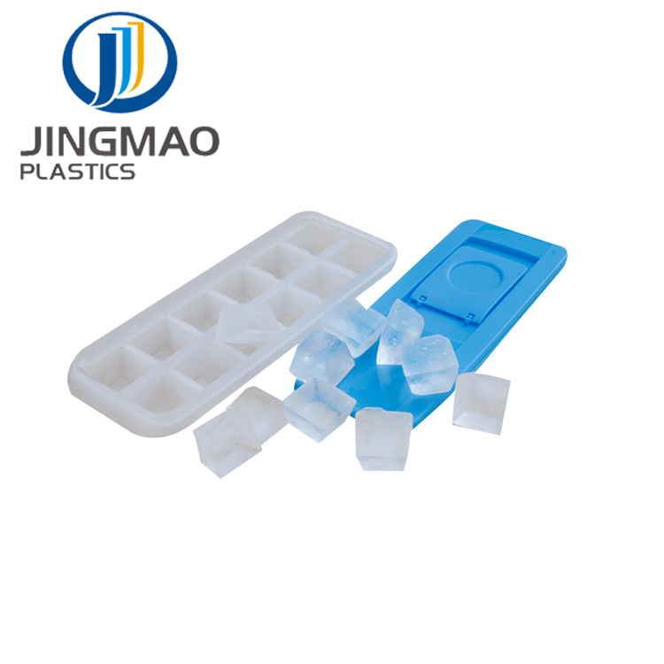 bpa free New Design PP Lower Price Plastic personalized Ice Cube Tray with lid