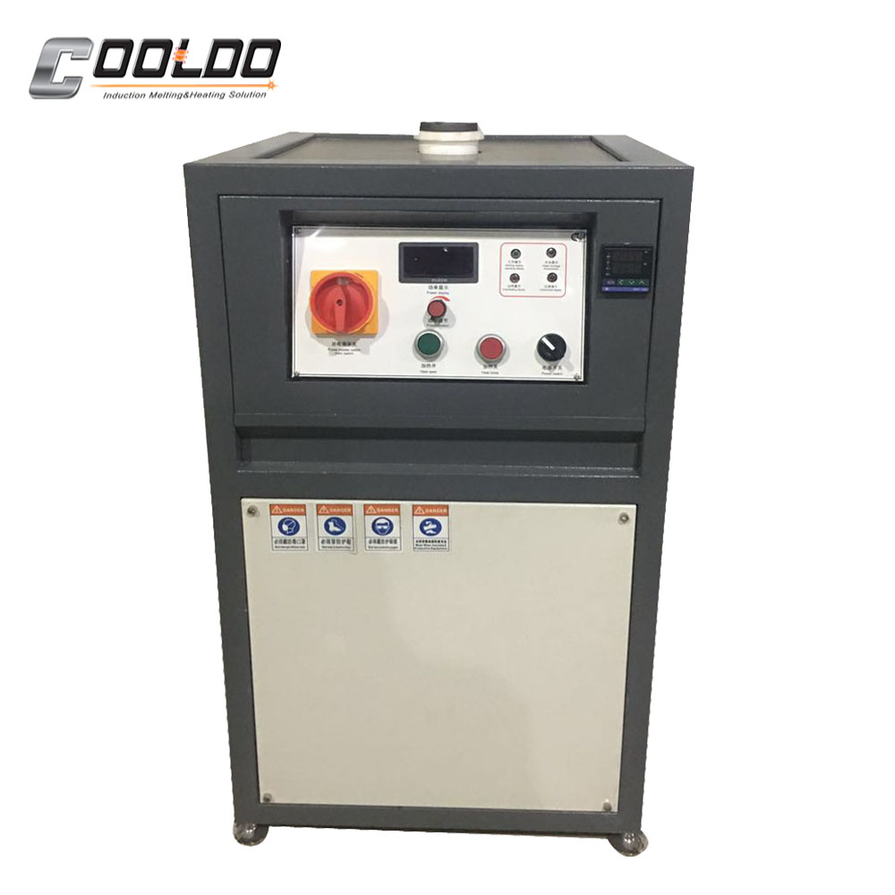 Portable silver gold melting equipment for gold refine industry for sale