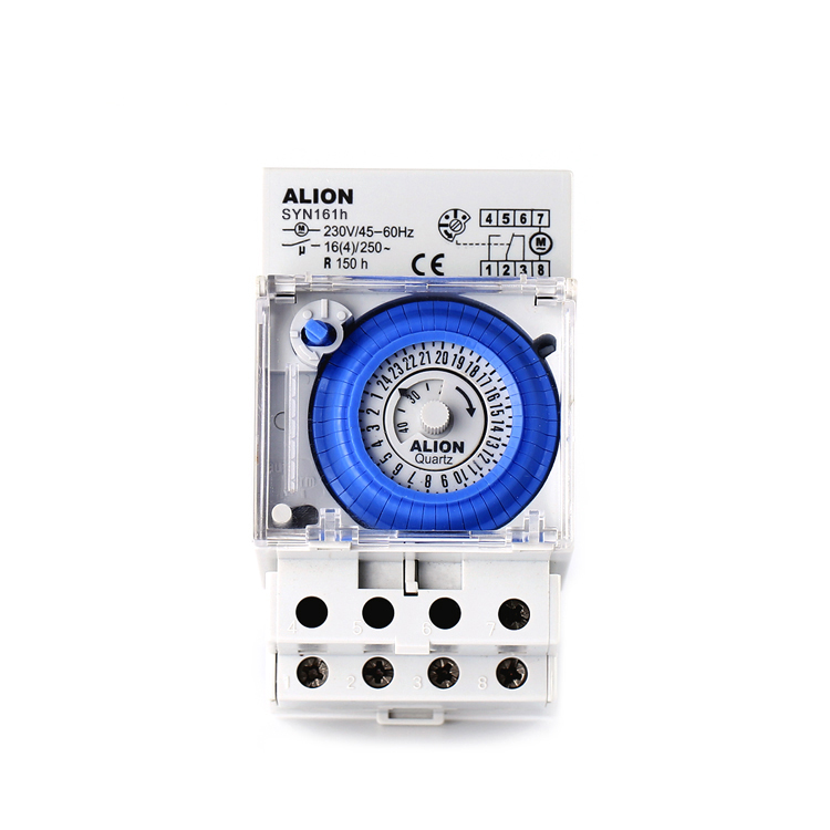 ALION 16 SYN161h 220 v-240 v (4) UM 24 Hora Temporizador Interruptor de Parede, limitd Analogue Temporizador