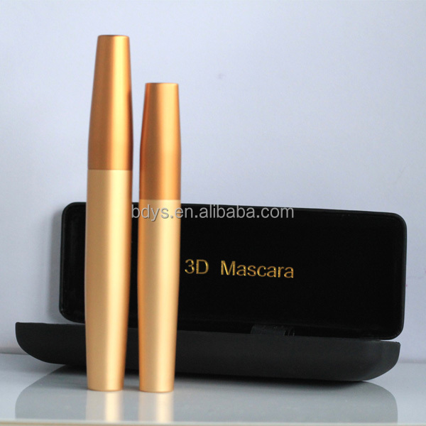 No it is not false lashes 3d fiber lash mascara with private label iron case