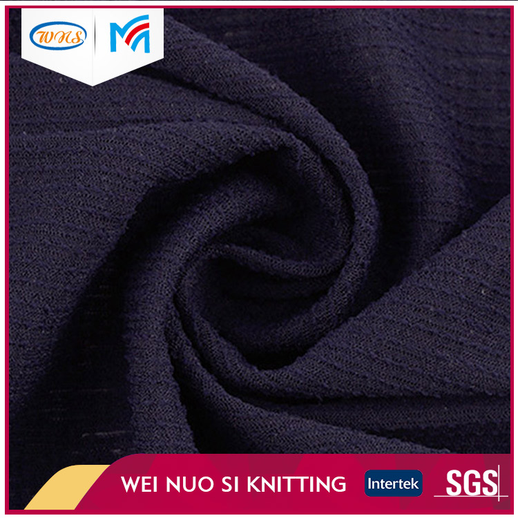 Wholesale OEM product Fashion dyeing combed cotton slub terry fabric