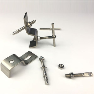 High quality 304 316 fixing anchor stainless steel z bracket