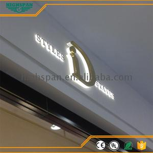 Best selling items 3d emboss channel letter/logo sign for shopping mall build up letter arabic silver number and signs