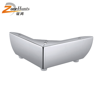 Custom Angled Furniture Leg Slanted Contemporary Industrial Classic  Stainless Steel Metal Sofa Legs