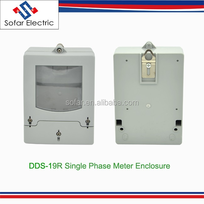 DDS-19R IP54 Single Phase Energy Electricity Meter Case