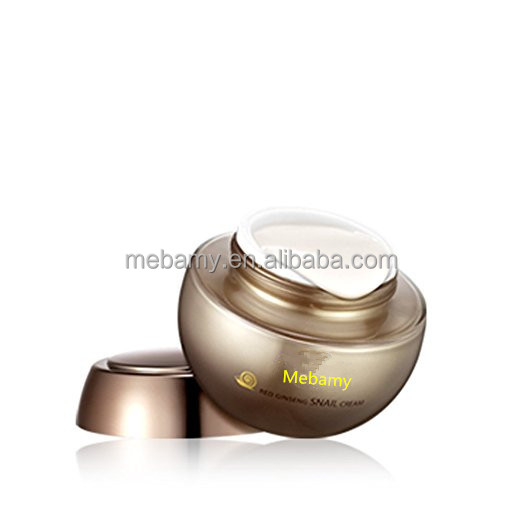 Private Label Korean cosmetics Women Moisturizer Red Ginseng Snail Cream Face Cream for All Skin Types