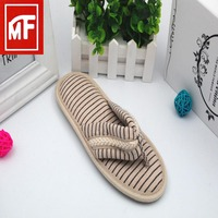 2017 manufacturing customize eva flip flop slippers