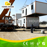 Shelter refugee camp prefab house